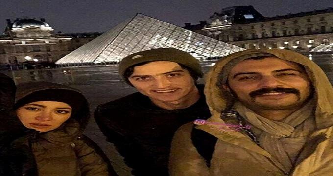 «سردار آزمون» و «بهاره افشاری» در پاریس