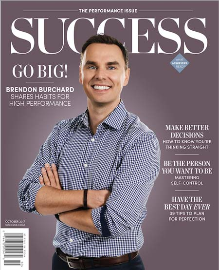 عکس برندن در مجله