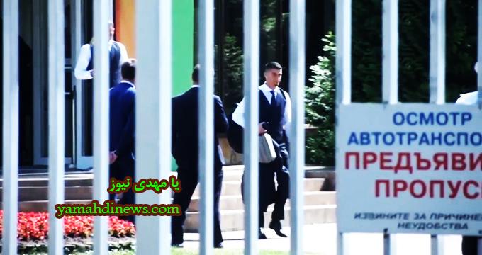 فیلم / ترک هتل و خداحافظی رونالدو با روسیه