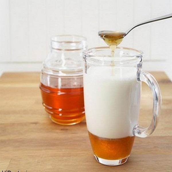 شیر عسل بخورید و چاق شوید