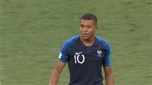 فیلم / گل چهارم فرانسه به کرواسی (امباپه)