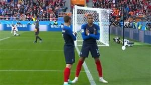 فیلم / گل اول فرانسه به پرو (ام باپه)