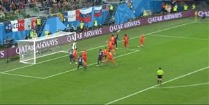 فیلم / گل اول فرانسه به بلژیک (اومتیتی)
