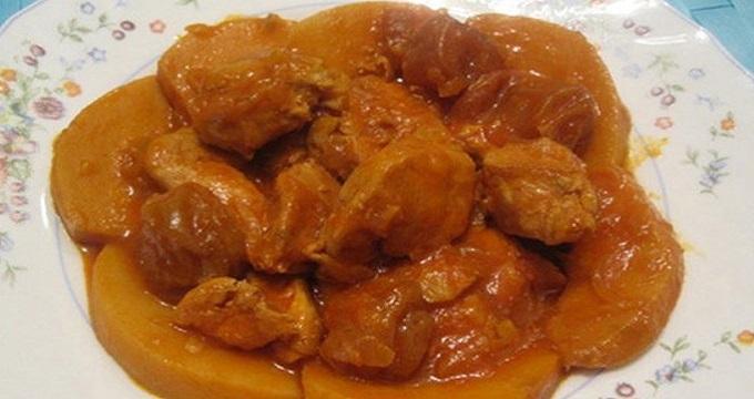 غذای اصلی/ طرز تهیه خورشت به و آلو به سبک اصفهانی