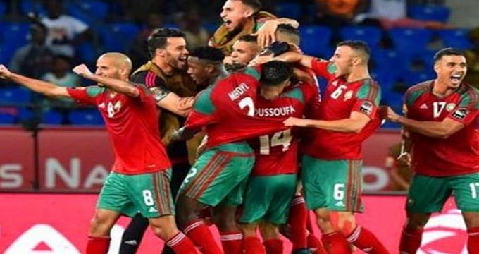 گل اول مراکش به اسپانیا (بوطیب)