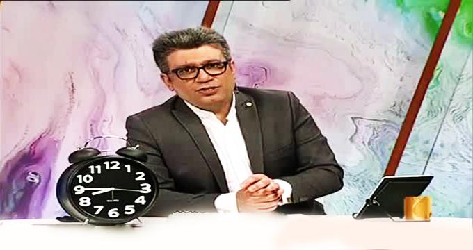 فیلم / اتفاقی عجیب در برنامه زنده «رضا رشیدپور»