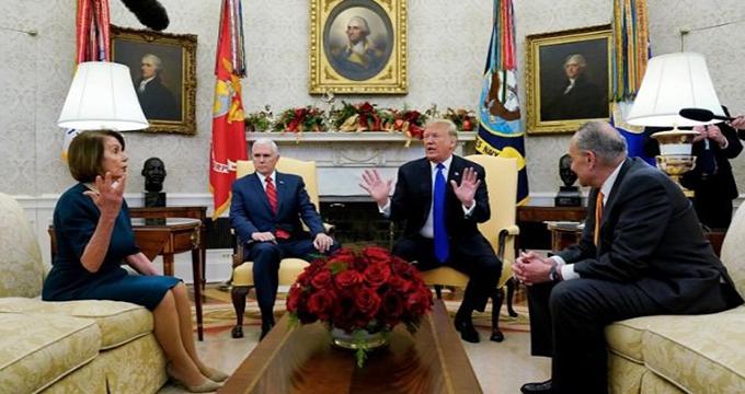 فیلم / بحران اقتصادی کریسمسی ترامپ
