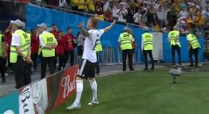 فیلم / سوپر گل سه امتیازی تونی کروس به سوئد