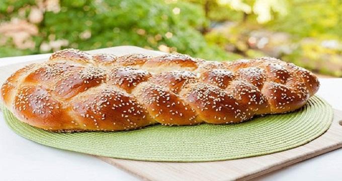 میز اردور نان کنجدی با عطر و طعم فوق العاده