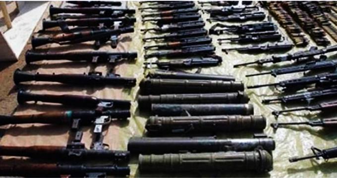 کشف سلاح های رژیم صهیونیستی در دیرالزور