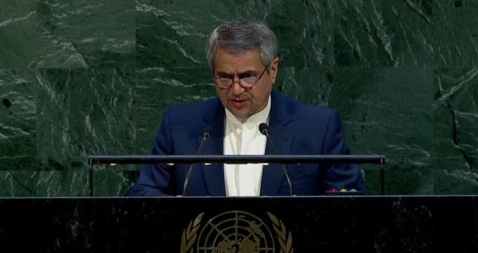 انتقاد نماینده ایران از اقدام آمریکا
