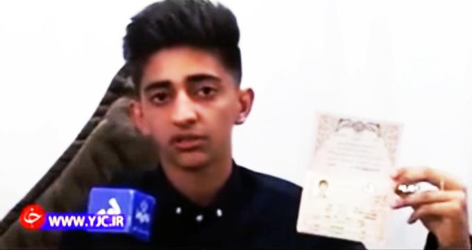 ویدئو/ مصاحبه با نوجوانی که گفتند در اغتشاشات کشته شده!