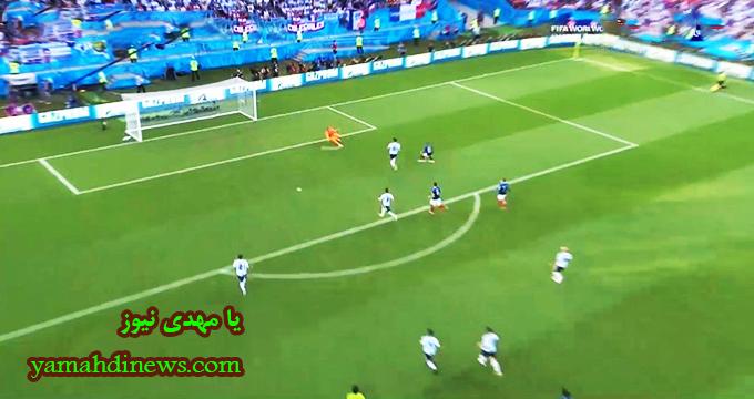 فیلم / گل چهارم فرانسه به آرژانتین (دبل - امباپه)
