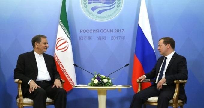 مدودیف: بین ایران و روسیه روابط گسترده در عرصه های مختلف برقرار شده است