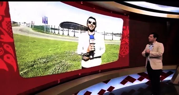 گزارش محمدحسین میثاقی از کنار کازان آرنا