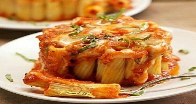 غذای اصلی, طرز تهیه «پاستا ریگاتونی قالبی»