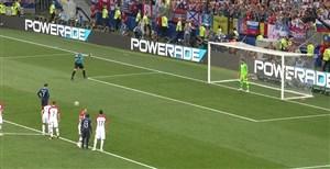 فیلم / گل دوم فرانسه به کرواسی (پنالتی-گریزمان)