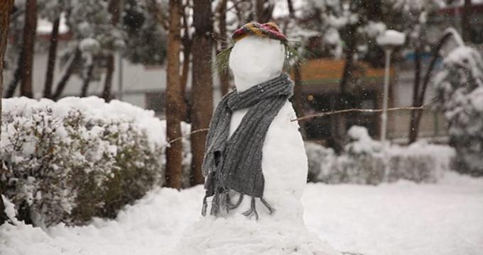 فیلم/ برف بازی در زیباترین روز سال