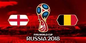 فیلم / خلاصه بازی بلژیک 2 - انگلیس 0 (جام جهانی روسیه)