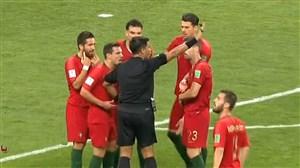 فیلم / بررسی لحظه های حساس بازی ایران و پرتغال