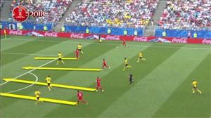 فیلم / آنالیز عملکرد تیم ملی بلژیک تا قبل از رده بندی