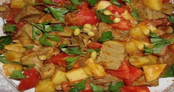غذای اصلی/ قورمه جگر، غذایی مناسب برای افراد کم خون