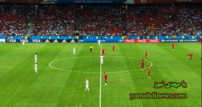 فیلم / خلاصه بازی اسپانیا 3 - پرتغال 3 (جام جهانی روسیه)