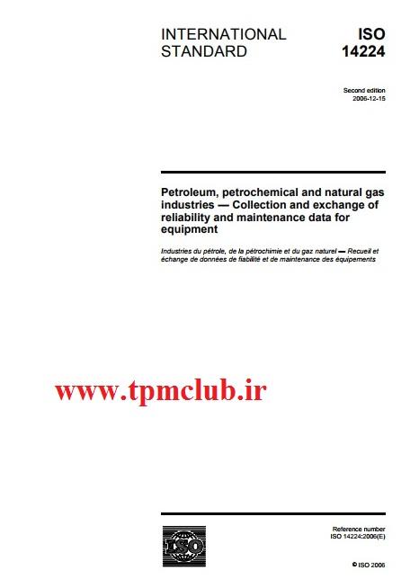 دانلود استاندارد Iso 14224-2006