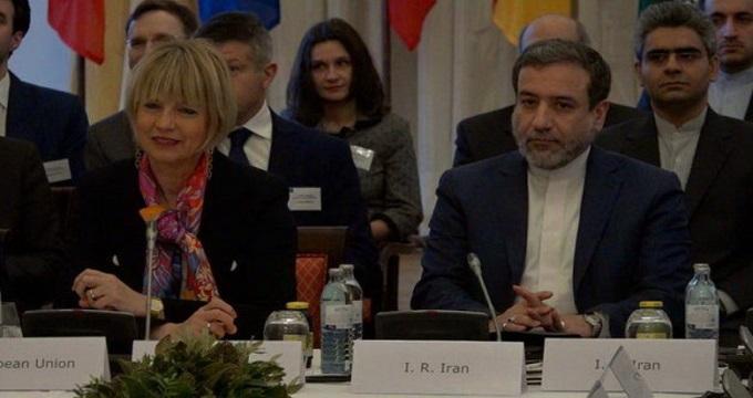 دیدار جداگانه عراقچی با اشمید و آمانو