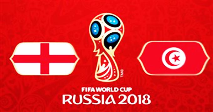 فیلم /خلاصه بازی تونس 1 - انگلیس 2 (جامجهانی روسیه)