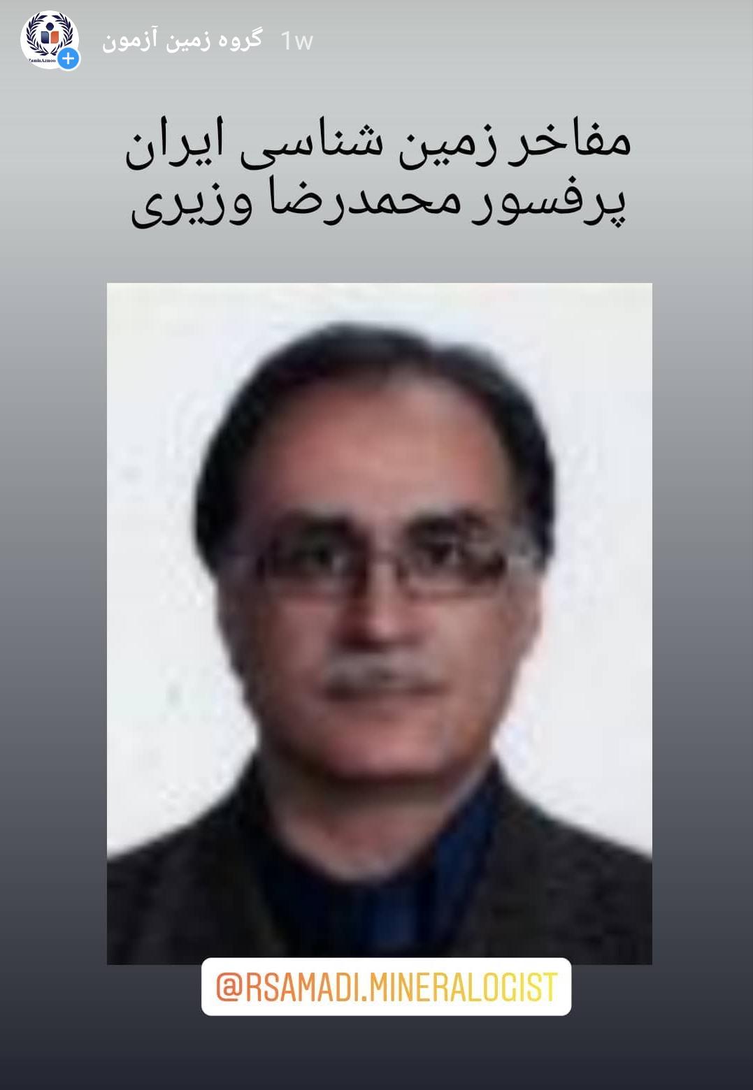 دکتر محمد رضا وزیری