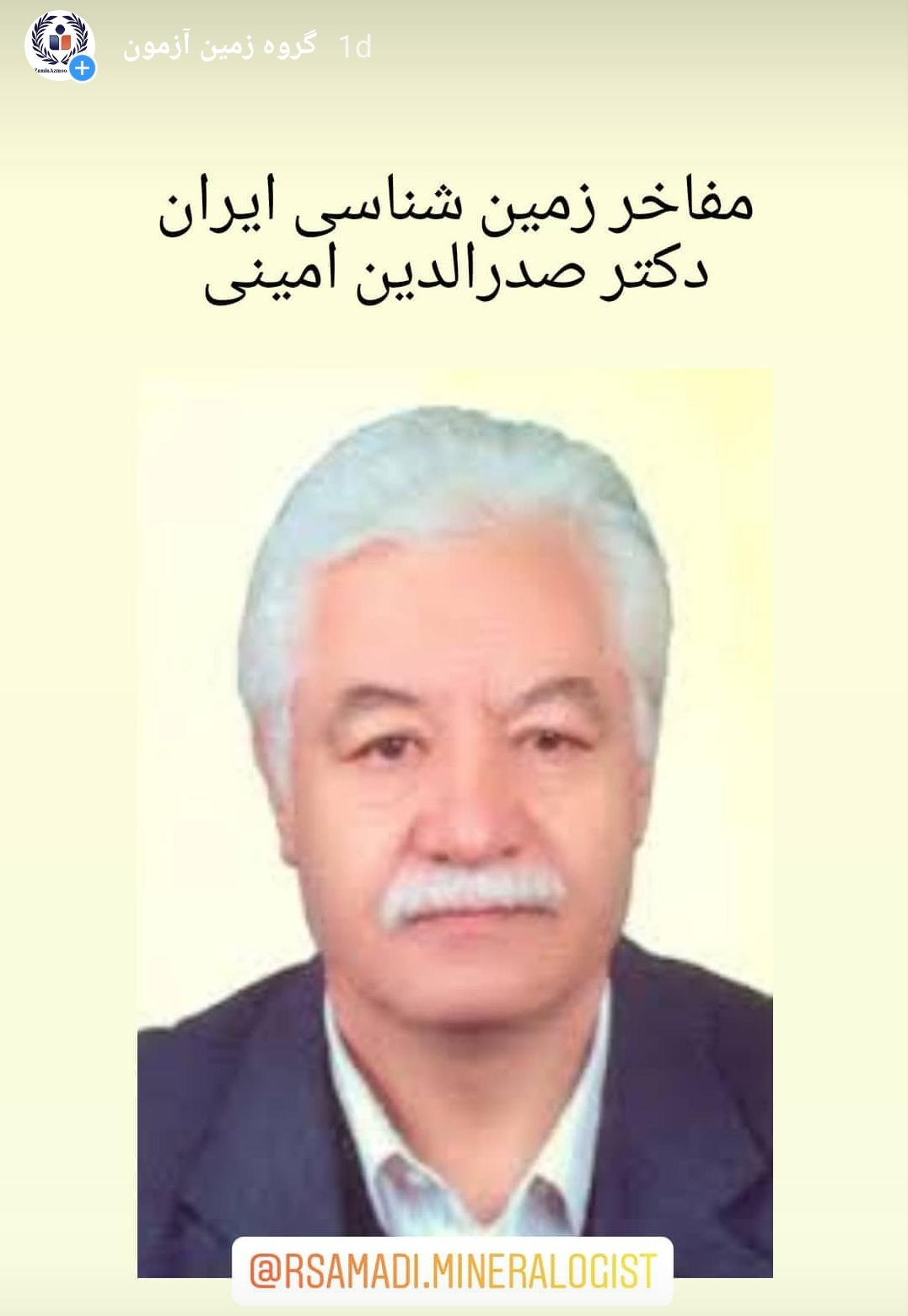 دکتر صدرالدین امینی
