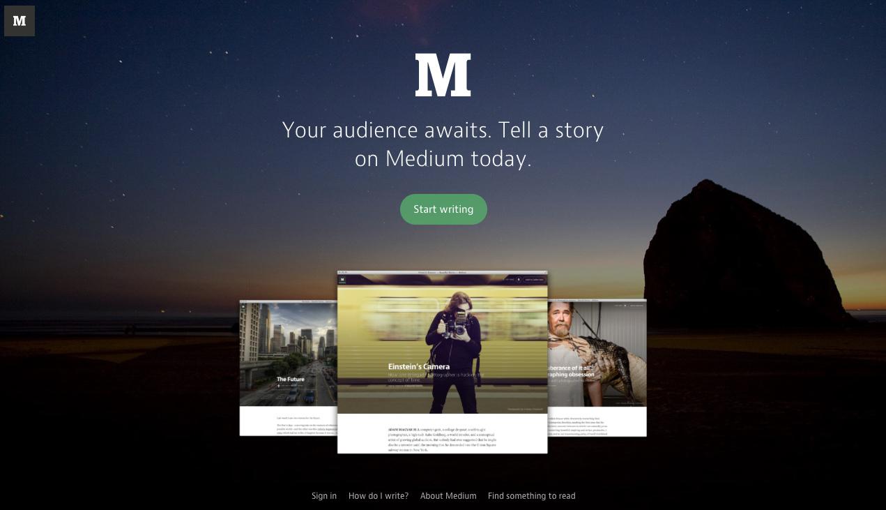 سیستم وبلاگ نویسی و شبکه اجتماعی مدیوم