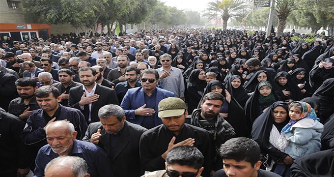 فیلم / تشییع پیکر مطهرشهدای دفاع مقدس در سالروز شهادت حضرت فاطمه زهرا(س) در شهرهای مختلف