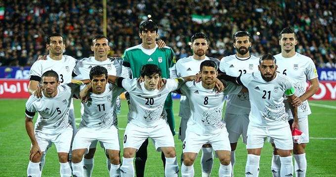 فیلم / گرم کردن بازیکنان ایران و مراکش پیش از بازی