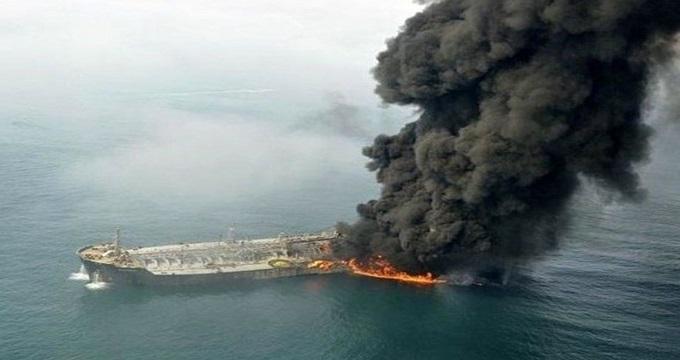 رمزگشایی جعبه سیاه نفتکش سانچی در کشور محل حادثه