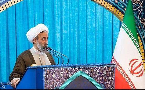 pic سخنرانی پیش از خطبههای نماز جمعه تهران- ۹۷.۰۳.۰۴ | سیاسیترین موضوع، معنویترین موضوع است!/ «مرگ بر آمریکا» یعنی ریشهکن کردن فقر! پناهیان