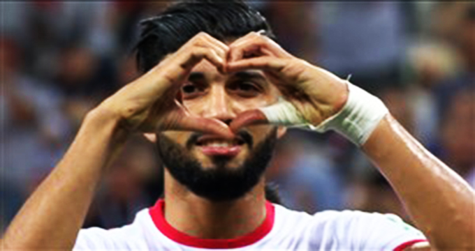 فیلم / گل اول تونس به انگلیس (ساسید)