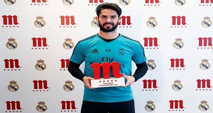 بهترین بازیکن ماه رئالمادرید معرفی شد