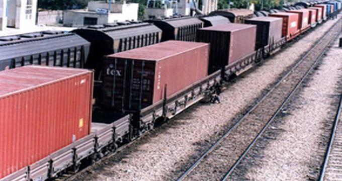 فیلم/قطار از ریل خارج شده در مسیر ایران به ترکیه