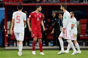 فیلم / بررسی عملکرد درخشان عزتاللهی در بازی با اسپانیا
