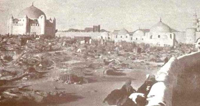 بهشت ماندنی است  فاجعه تخریب قبرستان بقیع توسط وهابیت