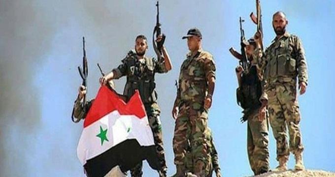 ارتش سوریه گُل کاشت