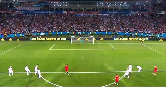 فیلم / گل اول پرتغال به اسپانیا (رونالدو-پنالتی)