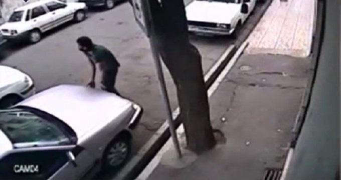 فیلم / سرقت کامپیوتر خودرو در کمتر از ۳۰ ثانیه