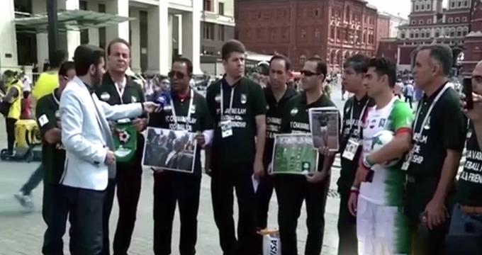 فیلم / پیام تکاندهنده هواداران تیمملی ایران به جهان فوتبال