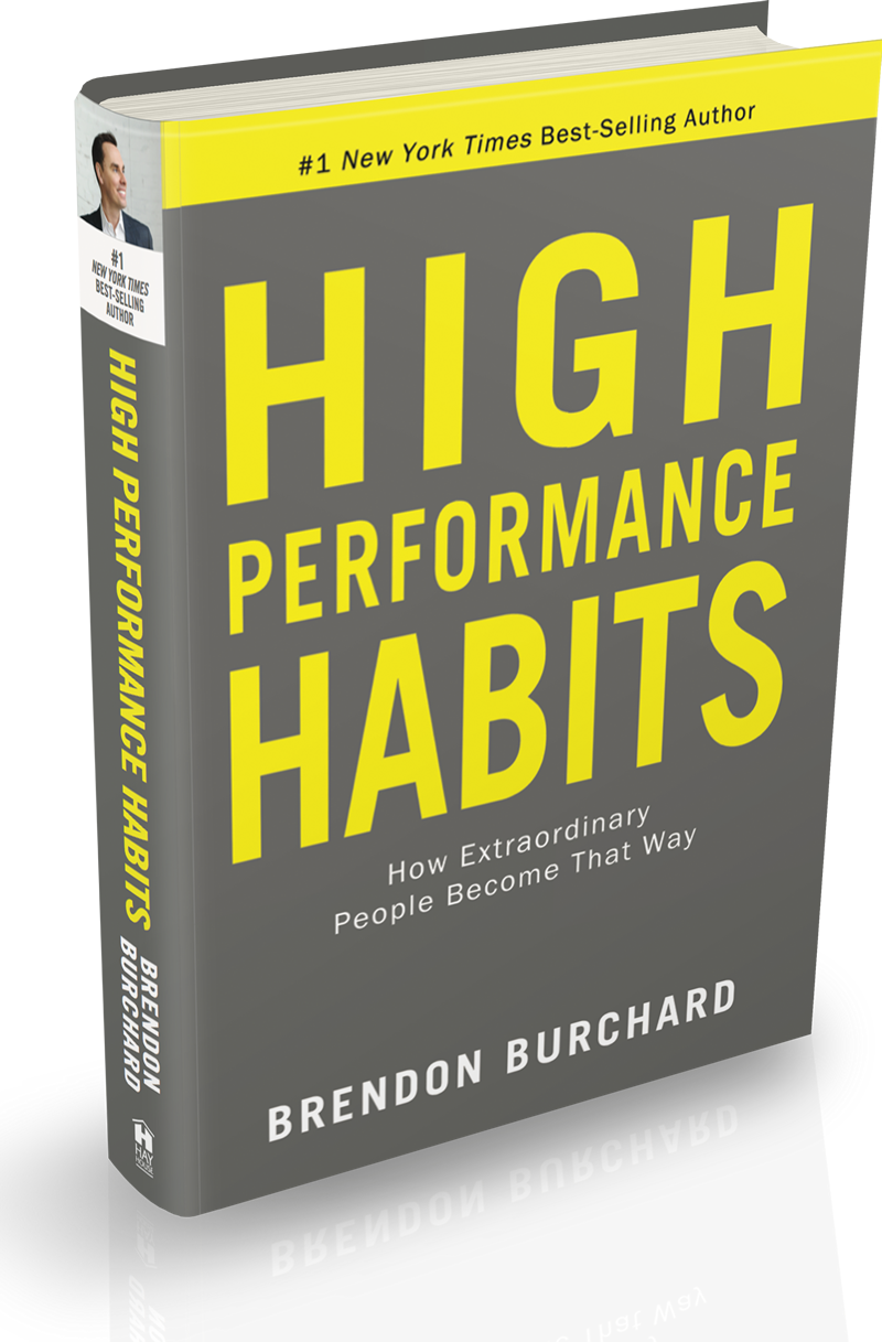 High Performance Habits book by Brendon Burchard