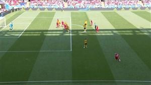 فیلم / گل اول تونس به بلژیک (برون)