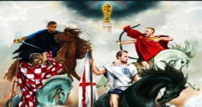 فیلم / نگاهی به افتخارات تیمهای حاضر در نیمه نهایی 2018