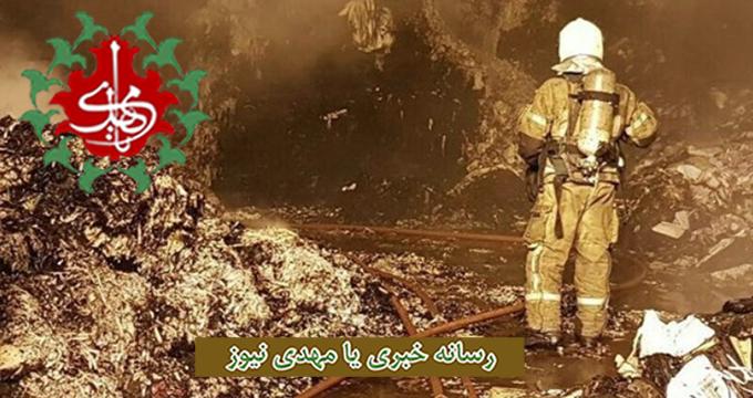 فیلم/ جزئیات تازه از حادثه آتش سوزی قهوه خانه اهواز